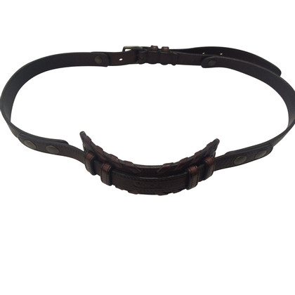 Chloé Chloé Leather Belt Brown
