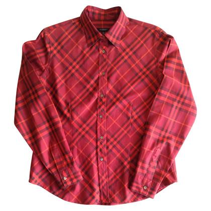 Burberry Geruite blouse