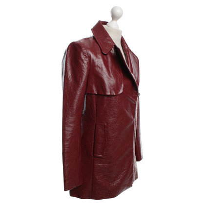 Claudie Pierlot Trenchcoat in Bordeaux