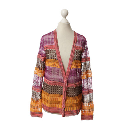 Missoni Cardigan with colorful pattern