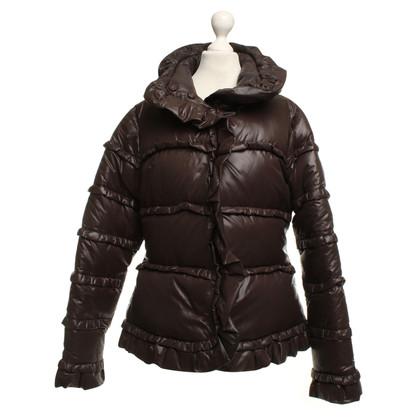 Escada Down jacket in dark brown