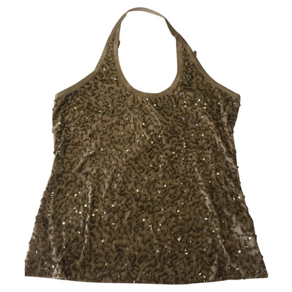 DKNY Top con paillettes
