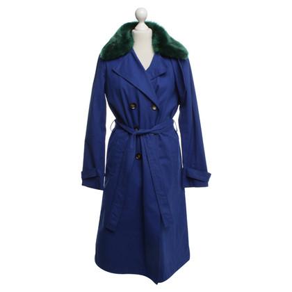 Other Designer Essentiel - Trenchcoat in blue