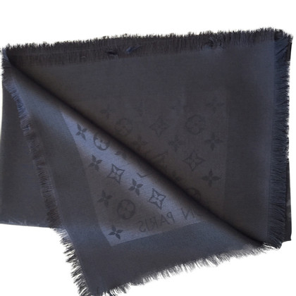 Louis Vuitton Monogram Scarf Anthracite