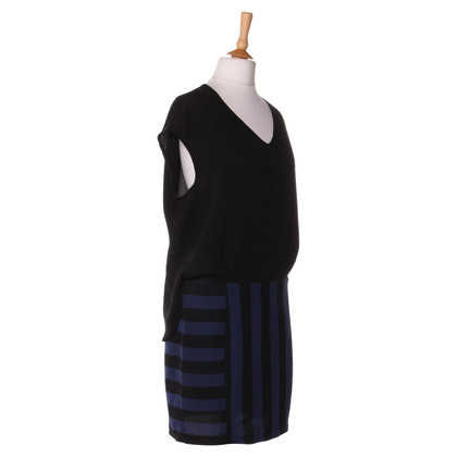 Sandro Dress with stripe pattern