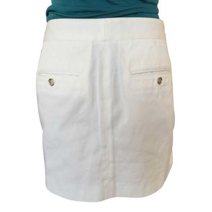 D&G White mini skirt