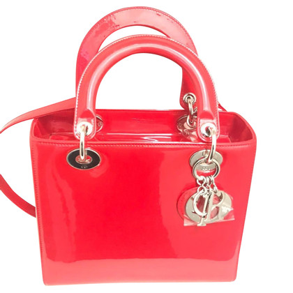 Christian Dior Lady Dior Red