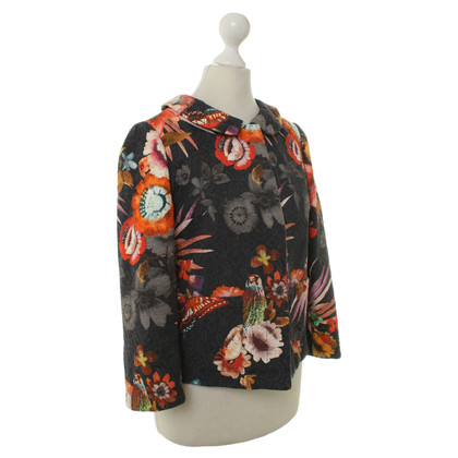 Altre marche Shirtaporter - giacca con motivo floreale
