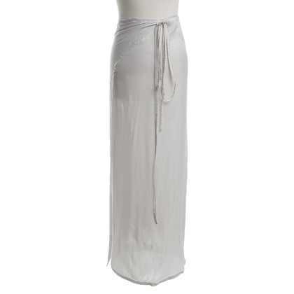 Ann Demeulemeester Wrap skirt in white