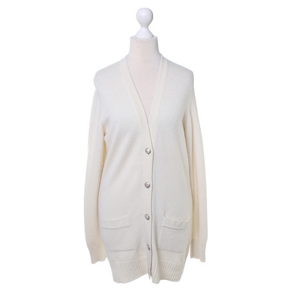 Chanel Cashmere Cardigan in cream