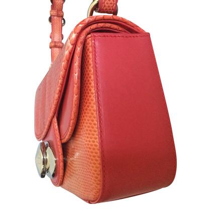 Christian Dior Schlangenleder Tasche