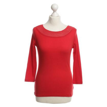Ralph Lauren Red cotton top S