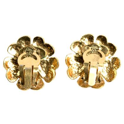 Chanel Golden earrings