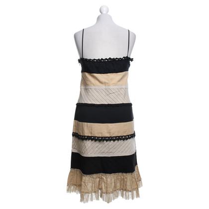 Moschino Kleid aus Materialmix
