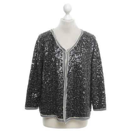 Steffen Schraut Sequin jacket in grey / black