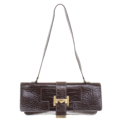 Max Mara Handbag in reptile look