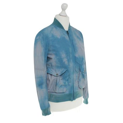 Jet Set Jacke mit Batik-Muster