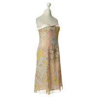 Christian Lacroix Silk dress with floral print