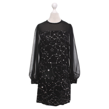 Sandro Black dress with print