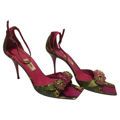 Moschino Exravagant high heels
