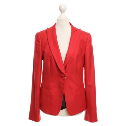 Giorgio Armani Klassieke blazer in het rood