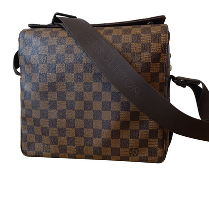 "Louis Vuitton ""Naviglio Damier Ebene Canvas"""