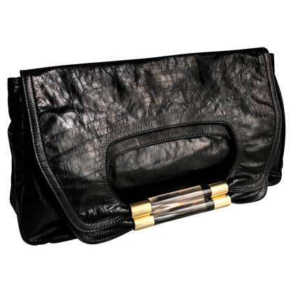 Chloé Weiche Crushed Leder-Handtasche