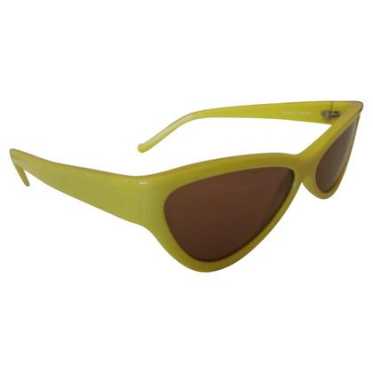 Miu Miu Sonnenbrille in Gelb