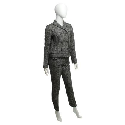 Dolce & Gabbana Wol mix broek pak