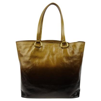 Prada Lackleder-Tote Bag