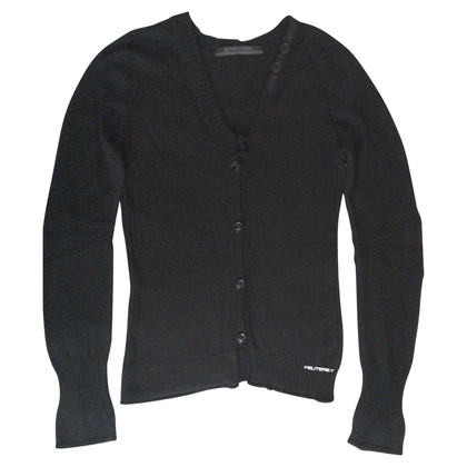 Peuterey Strickjacke in Schwarz