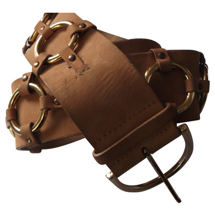 Blumarine Cintura in pelle scamosciata