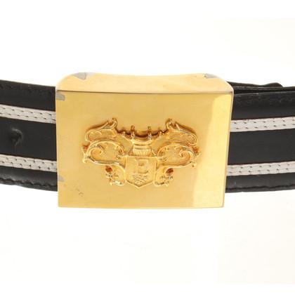 Escada Belt in black and white