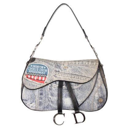 """Christian Dior """"Double Saddle Bag"""""""