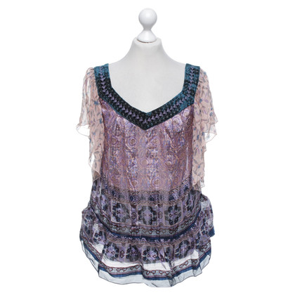 Anna Sui Bluse mit Muster