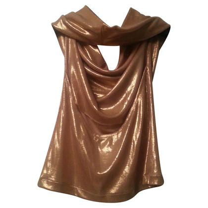 Patrizia Pepe Top with gold shimmer