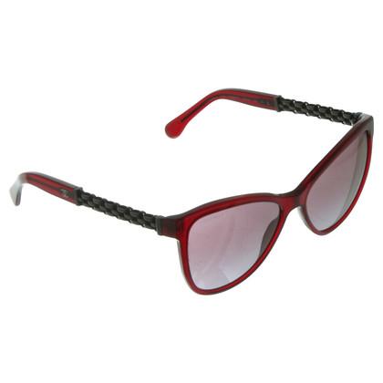 Chanel Occhiali da sole rossi