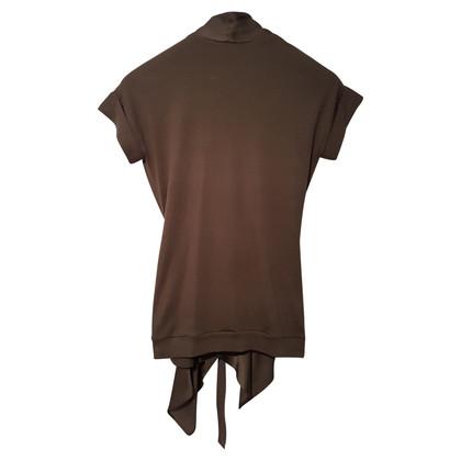 Brunello Cucinelli Short-sleeved jacket in ocher