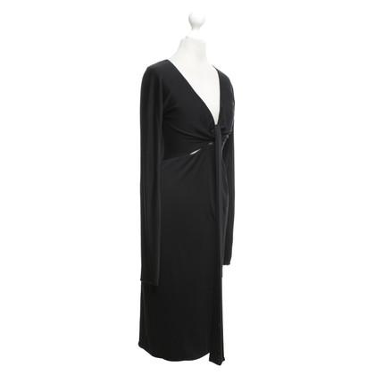 Gucci Jersey jurk in zwart