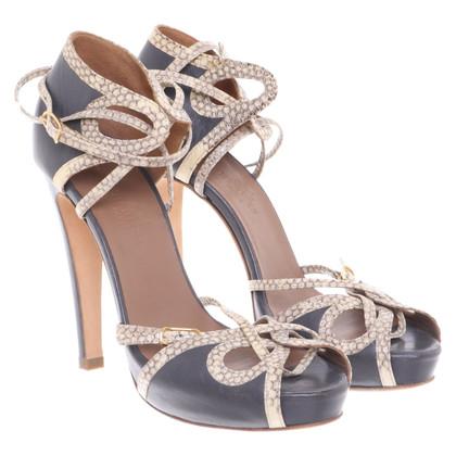 Hermès Sandalen in grijs