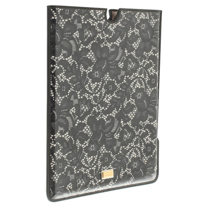 Dolce & Gabbana iPad Case with lace