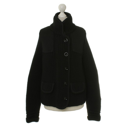 Balenciaga Strickjacke in Schwarz