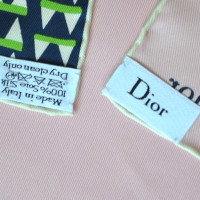 Christian Dior Silk scarf with pattern