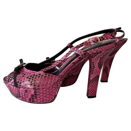 Dolce & Gabbana pumps gemaakt van python leer