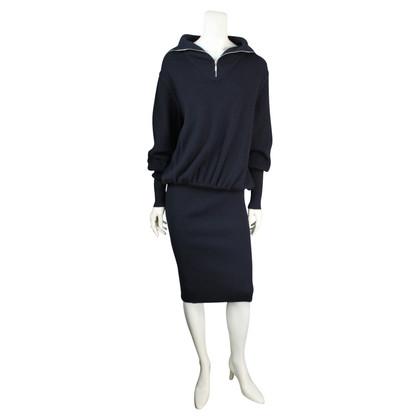 Chanel Blaues Kleid