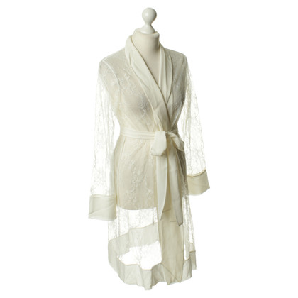 La Perla Dressing gown with lace