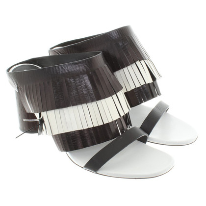 Proenza Schouler Sandals in black and white