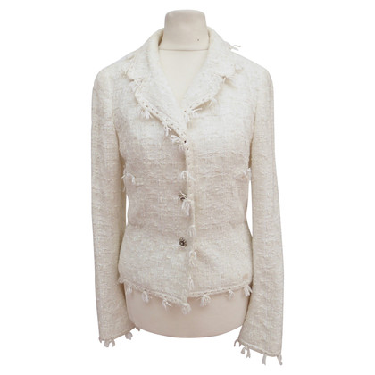 Chanel Blazer with woven structure