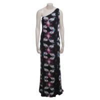 Halston Heritage Printed Maxi Dress