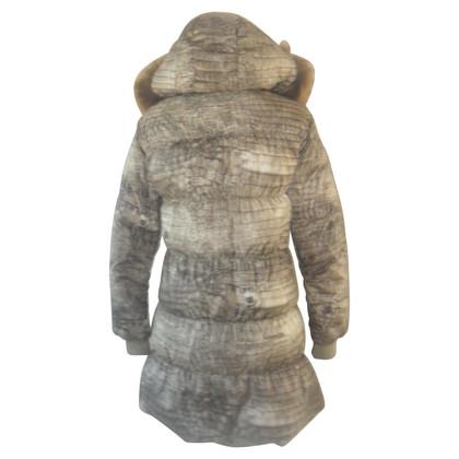 John Galliano Winter jacket with fur collar